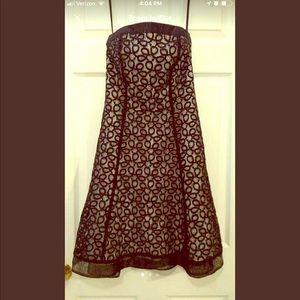 White House Black Market Strapless Dress, Size 2